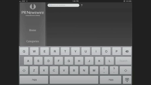 Demo of PR Newswire's new iOS 5 app for iPhone, iPad and iPod. Browse, search, view and share video, company news and blogs. Set up push or email alerts for your favorite topics, specifying the days & times you wish to receive them.