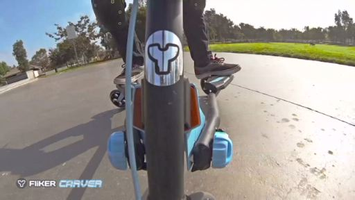 Yvolution introduces the Y Fliker Carver Series of performance scooters featuring patented FLEX technology. Kids looking for a more extreme ride can carve, drift and even 360 with enhanced stability and control.