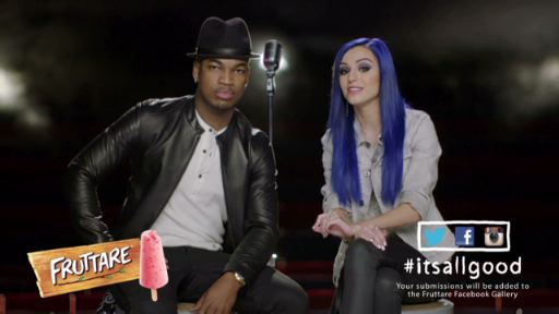 To celebrate the U.S. launch of Fruttare Fruit Bars, a brand that embodies a positive outlook on life, Grammy-Award winning superstar Ne-Yo and platinum-selling artist Cher Lloyd will come together for a first-of-its-kind collaboration giving fans an unprecedented opportunity to contribute to the creative process of an original song. The song will be inspired by social media submissions on Facebook, Twitter and Instagram showing what keeps fans looking on the bright side.