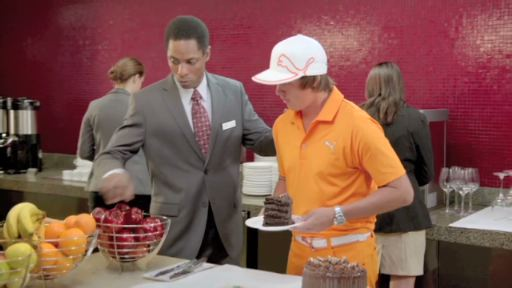 Two new ad spots from the Crowne Plaza Hotels & Resorts brand, featuring PGA TOUR pro Rickie Fowler.