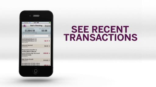 Ally Mobile Banking includes both Android and iPhone mobile applications, as well as a mobile banking website (m.allybank.com) that can be accessed on any smartphone.