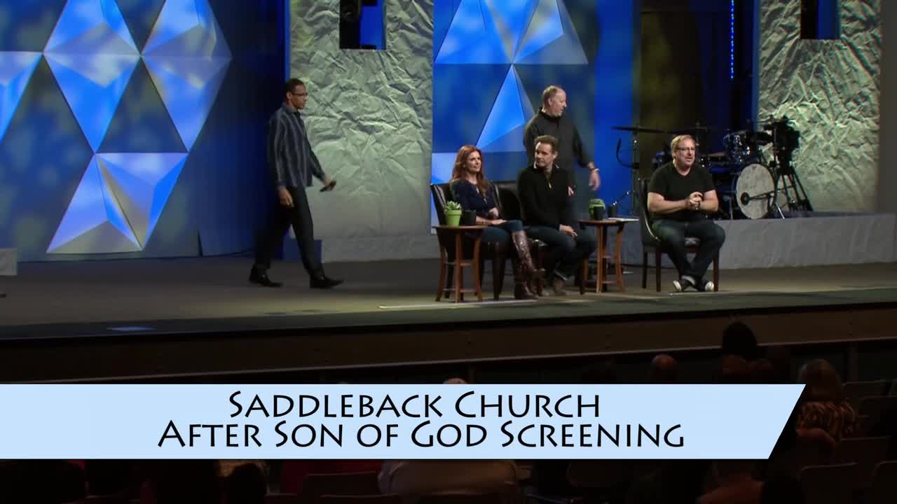Rick Warren, Saddleback Church Son of God Screening