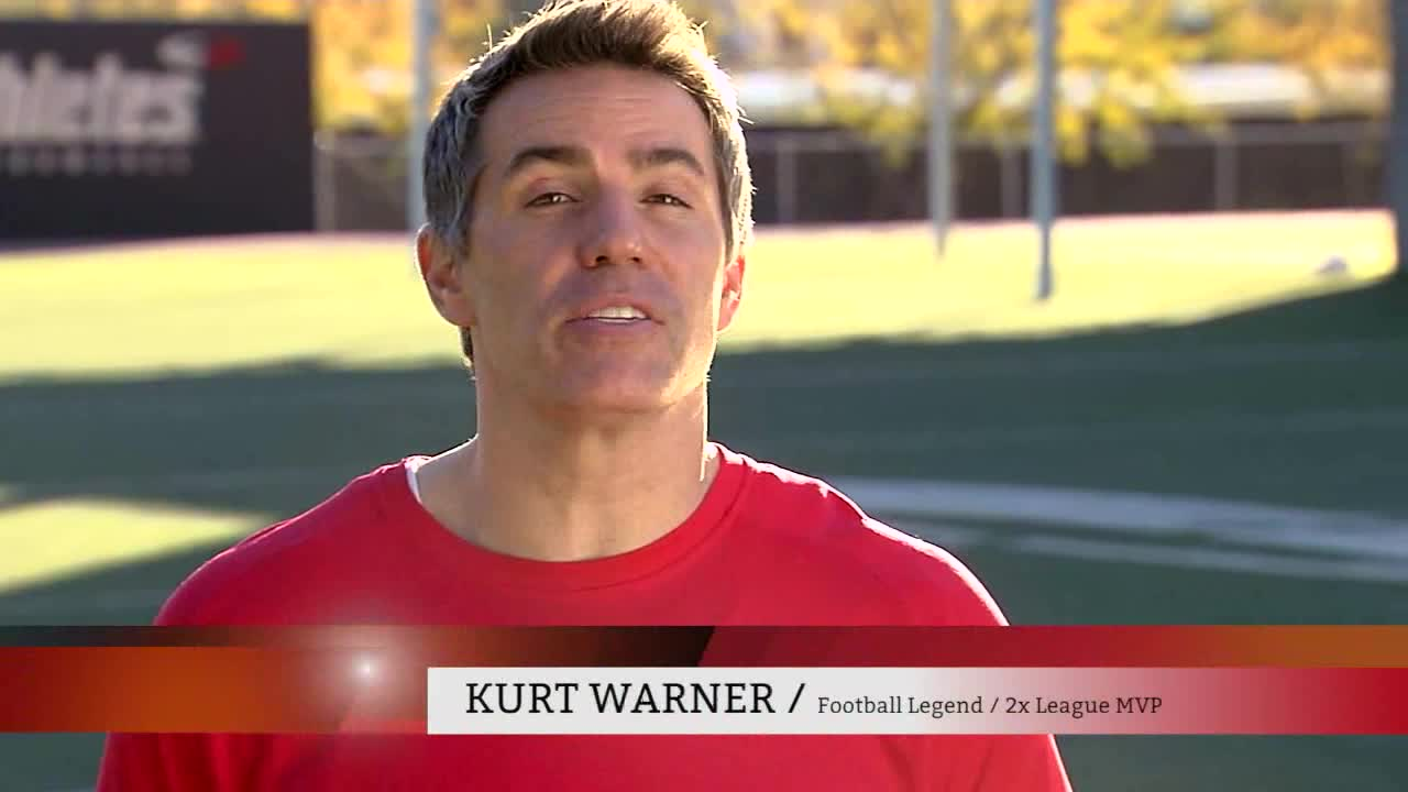 Kurt Warner Tackles High Cholesterol