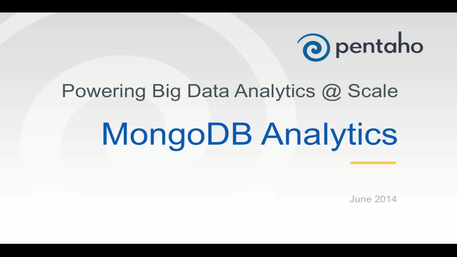 Pentaho Equips Companies to Easily Scale Big Data Operations, Regardless of IT Resources
