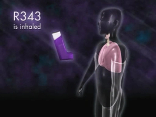 Rigel animation:  R343 a potential new therapeutic for the treatment of Asthma.