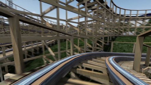 Take a virtual ride on Gold Striker at California's Great America set to open Spring 2013.