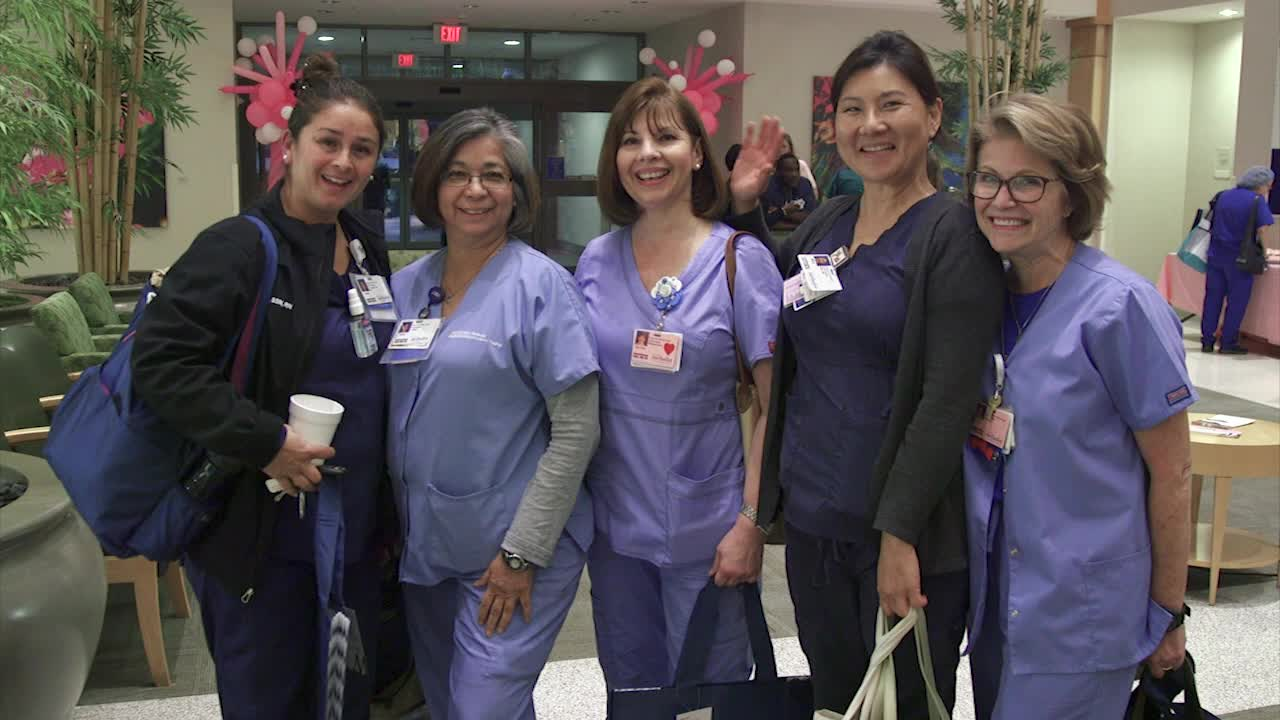 Houston Methodist Breast Care Center at Willowbrook celebrated October with multiple breast health awareness events
