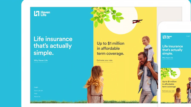 Life insurance that's actually simple.