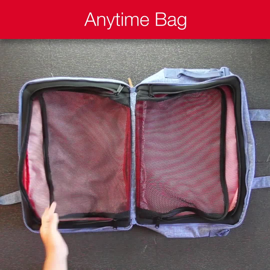 Hotwire encourages all travel geeks to have a pre-packed bag at the ready for spontaneous weekend getaways and last minute trips to see family and friends.