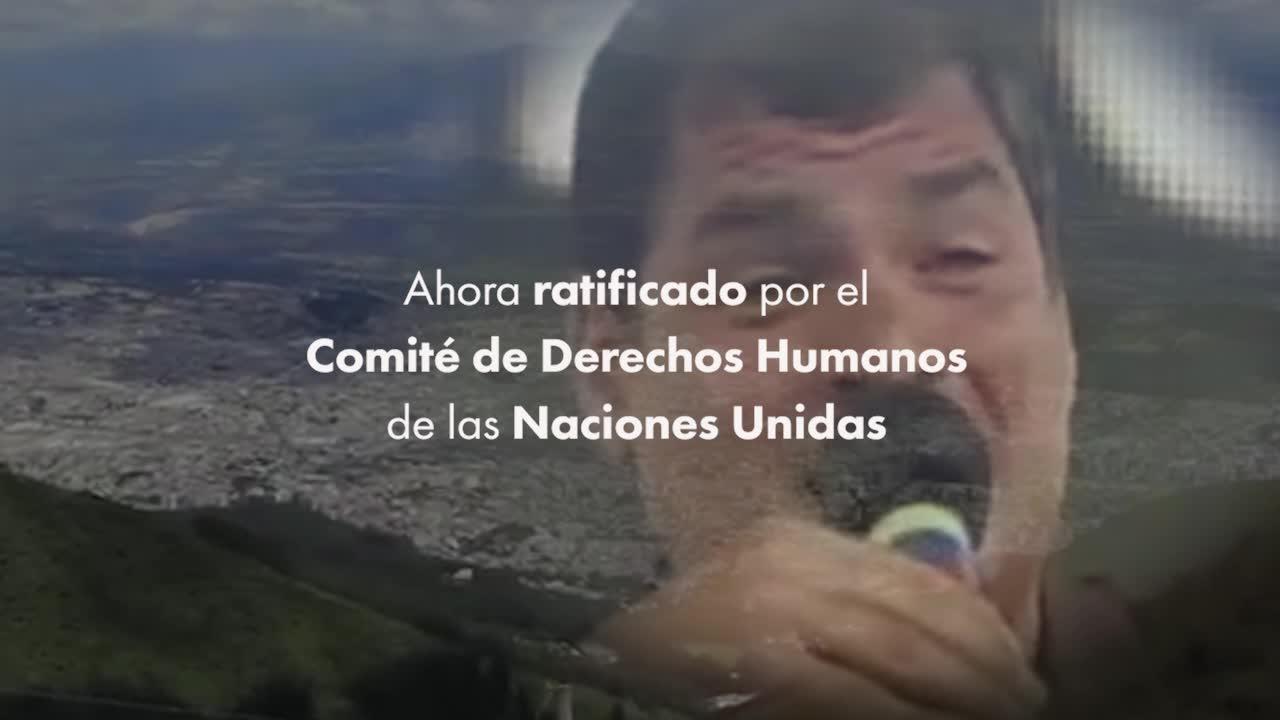 Roberto Isaías Comenta Sobre el Fallo del Comité de Derechos Humanos de la ONU en Contra del Gobierno de Ecuador