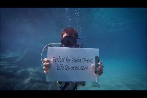 Scuba divers love Lifequotes.com because we make it quick and easy to find the best life insurance prices.