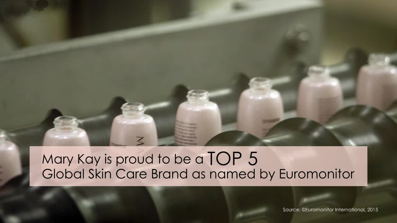 Mary Kay is now a Top 5 Global Skin Care Brand. The rankings, released by Euromonitor International, recognize the global beauty company's innovative and high-performing skin care products. Today, more than 300 Mary Kay(R) products are sold in 35 countries addressing the skin care needs of every woman and skin type.