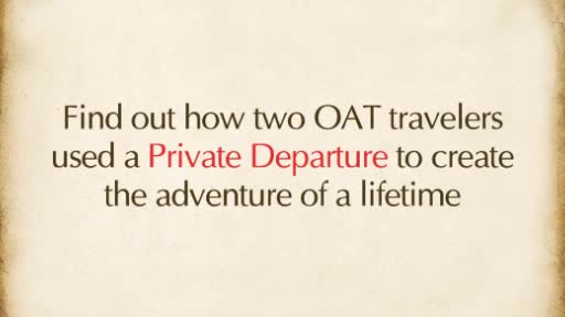 Overseas Adventure Travel to offer private, small group departures for as few as four travelers beginning in 2015