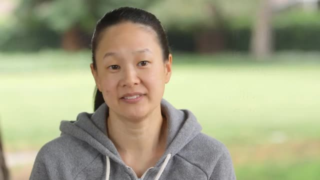 PLAE's summer games video series with Olympian Amy Chow - video #1: EAT