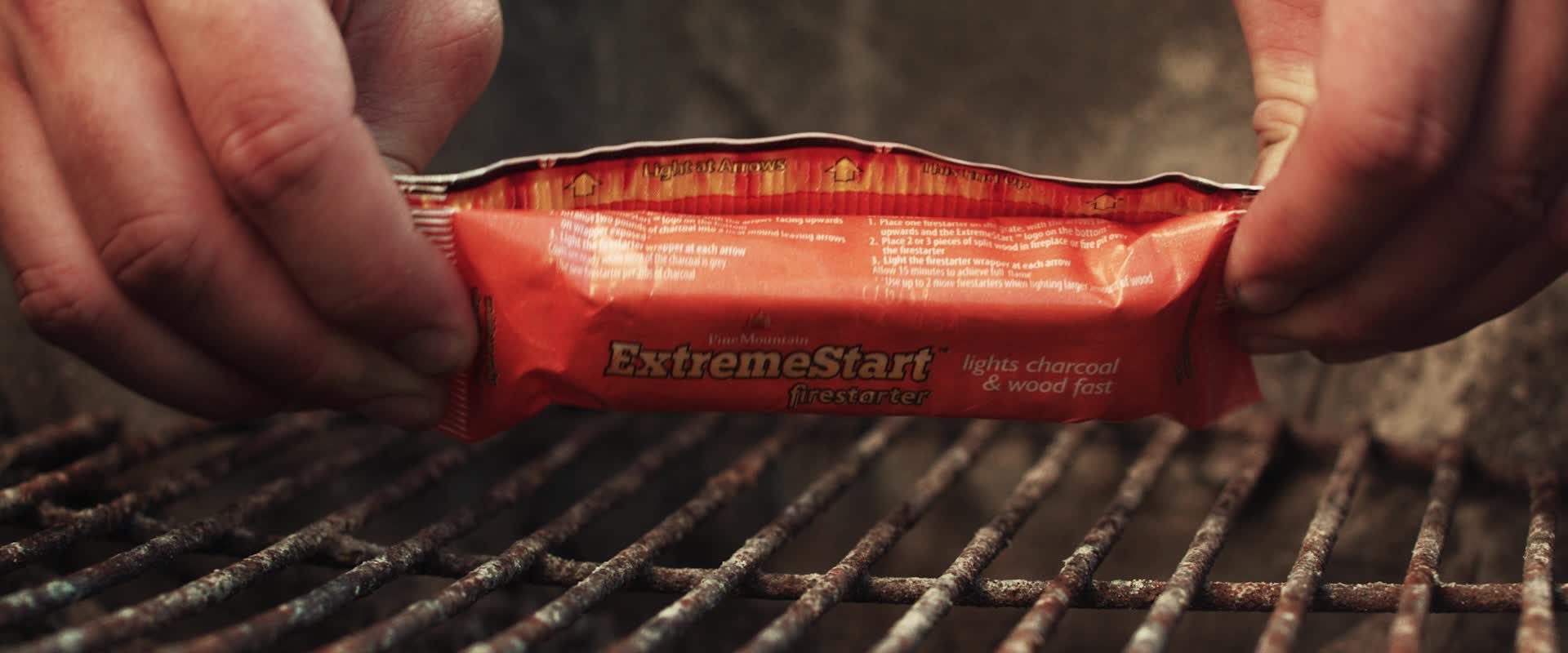 The perfect tailgate starts with the new Pine Mountain ExtremeStart Firestarter.
