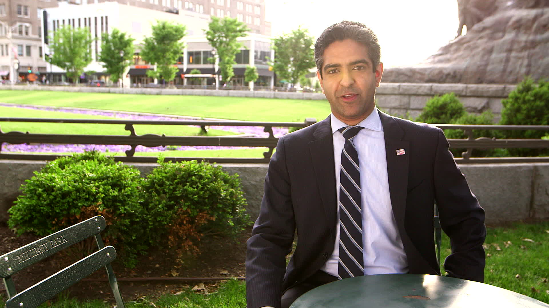 This is Hirsh Singh, speaking directly to you. I have one message: I am ONLY CONSERVATIVE running for governor, Democrats are pushing Socialist Banker Phil Murphy an Obama insider, who is trying to buy the governorship and raise our taxes.  I'm and Engineer, not a Politician. No one who has been in government can stop Murphy. I can, and I will. We can't afford the Murphy Threat in New Jersey. I'm Hirsh Singh, Engineer for Governor.