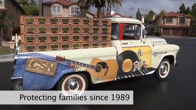 COPsync  supports America's leader in child safety, The Child Safety Network(tm) (CSN) with their Dallas, Texas, auction of the rarest and most valuable piece of country music memorabilia ever created - The Country Music Truck. Proceeds from the auction support the CSN's efforts to provide free resources to learn how to raise safer, healthier children.