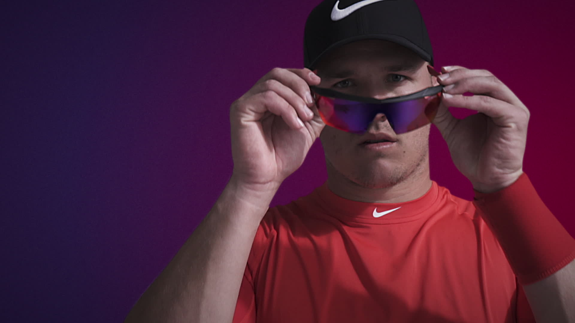 NIKE VISION INTRODUCES CUTTING-EDGE HYPERFORCE SUNGLASSES DESIGNED FOR BASEBALL & TRAINING. Developed with insights from All-Stars Mike Trout and George Springer, as well as other top Nike athletes, the Hyperforce and Hyperforce Elite feature unparalleled stability and cutting-edge lens technology for peak performance on-and-off the field.