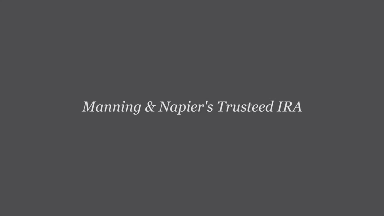 Manning & Napier launches Trusteed IRA