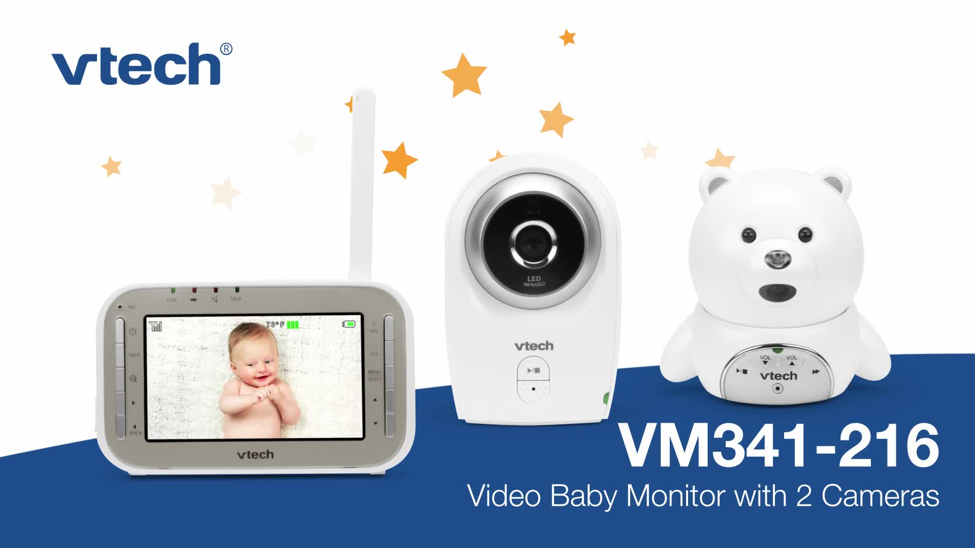 VTech adds new baby monitors to award-winning line