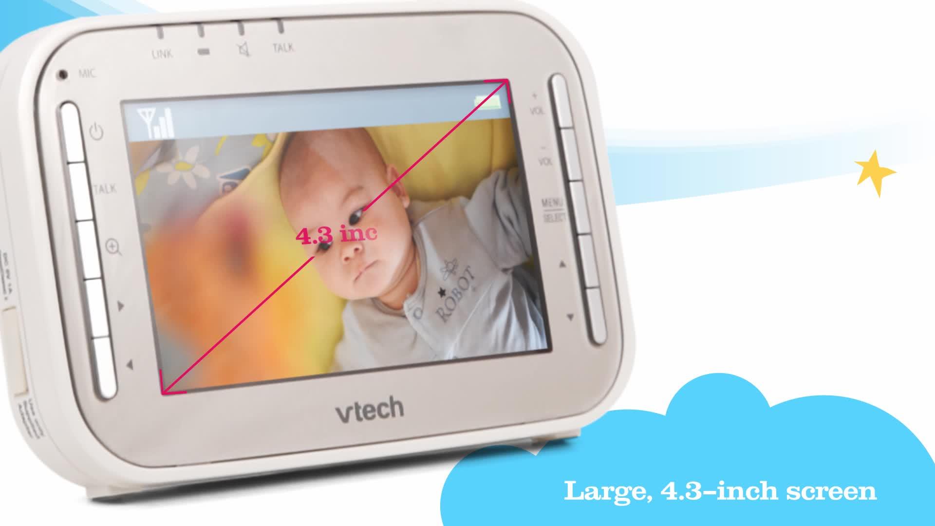 VTech expands award-winning Safe&Sound baby monitor line
