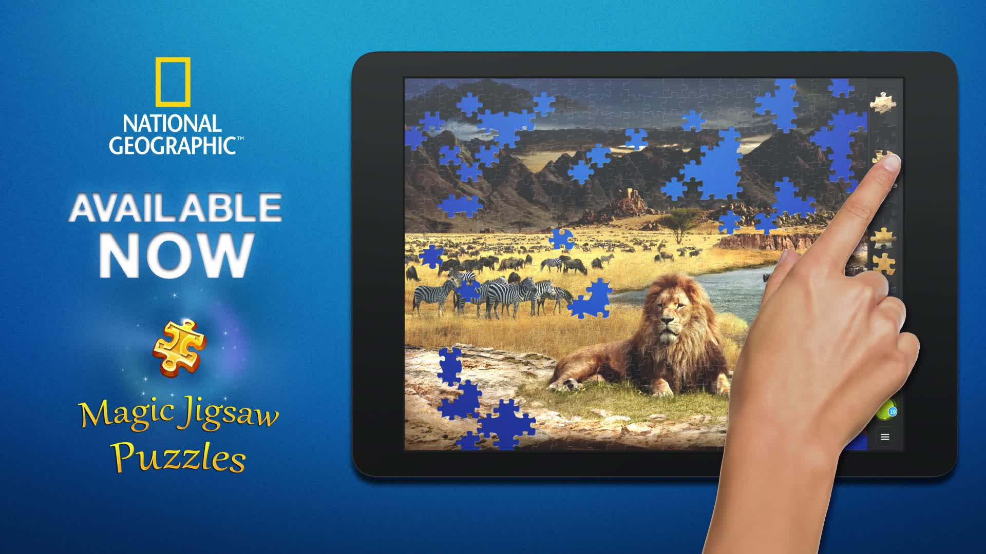 National Geographic and Magic Jigsaw Puzzles Partnership Video.