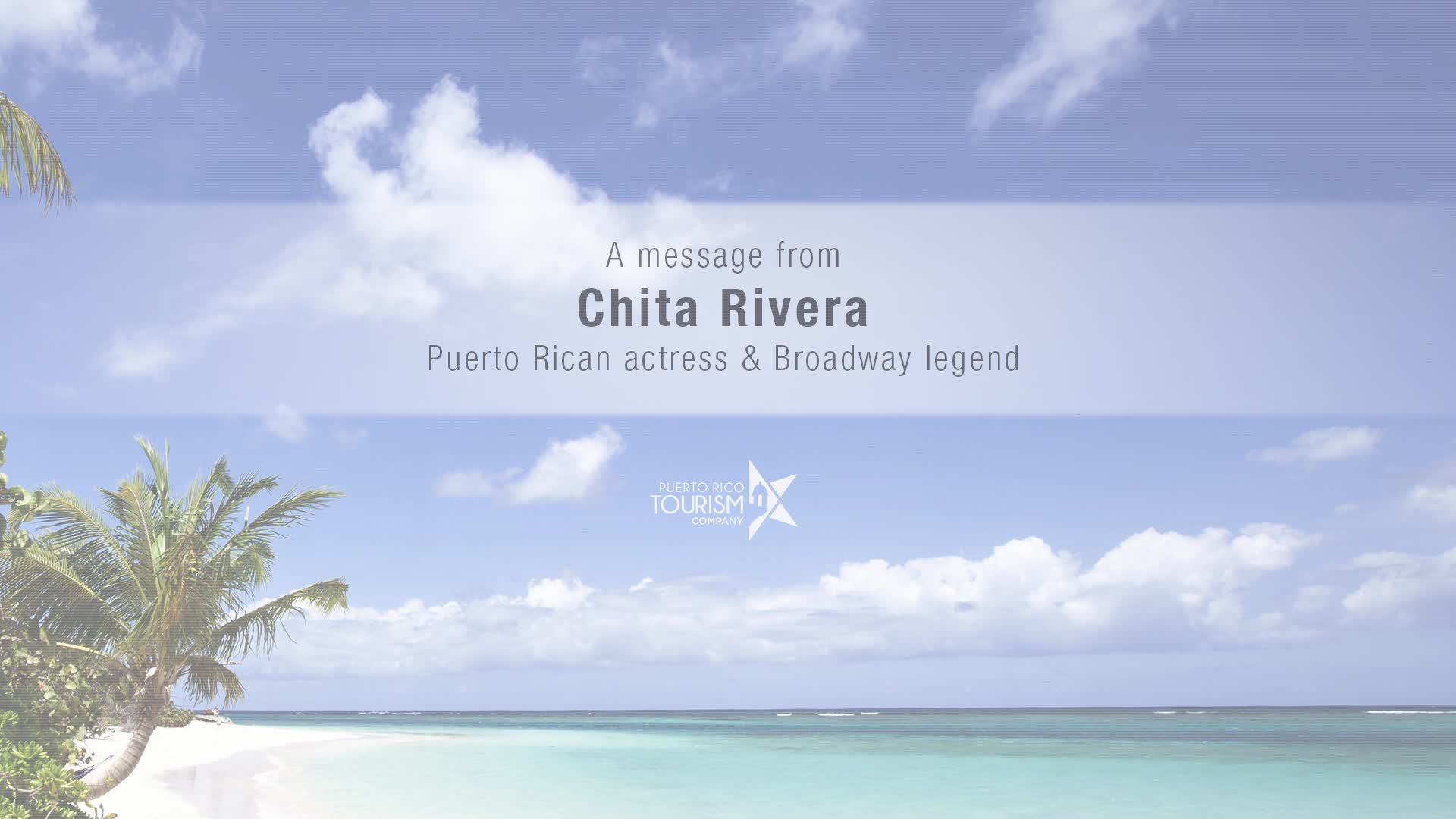 Chita Rivera has weighed in to celebrate her homeland and support the fight against Zika. (Video Credit: Puerto Rico Tourism Company)