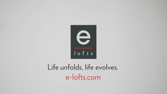 e-lofts introduces flexible lofts for life, work or both; redefining traditional commercial and residential real estate by establishing a new paradigm of loft-style spaces that can all be used, at all times, as either an apartment, office or live/work space at the user's choice. Visit www.e-lofts.com for more information.
