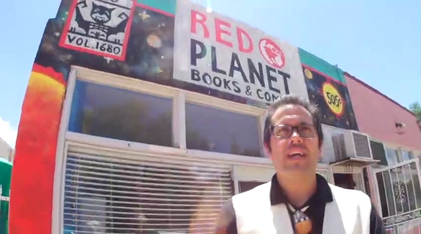 Native Realities' Red Planet Books & Comics