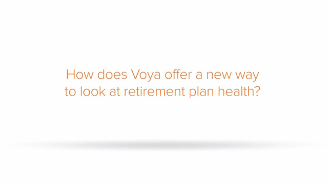 """Voya's new """"Retirement Check-Up Report"""" allows employers to measure the health of its retirement plan based on the digital enrollment and savings of its participants. Hear more from Richard Mason, Senior Advisor to the Voya Behavioral Finance Institute for Innovation."""